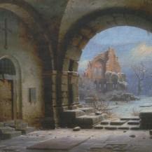 Wilhelm Steuerwaldt Klosterruine Heisterbach