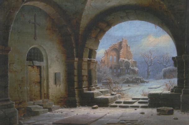 ruined monastery of Heisterbach
