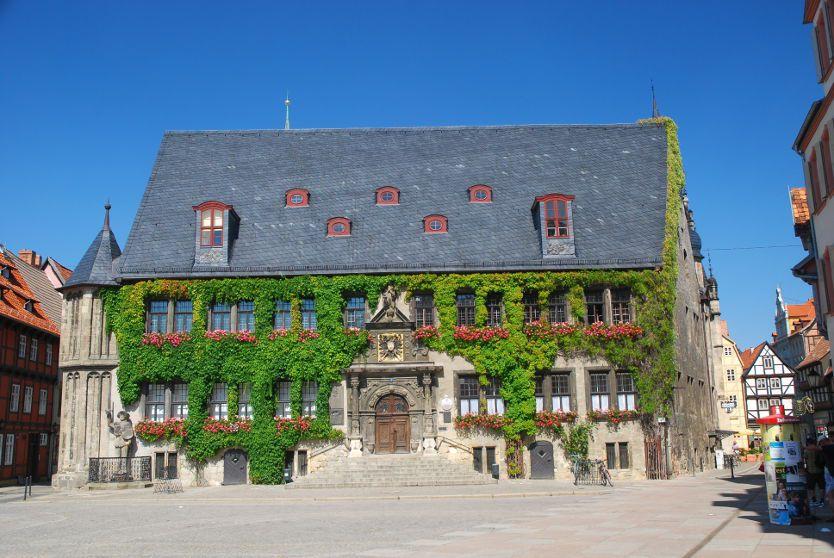 rathaus quedlinburg