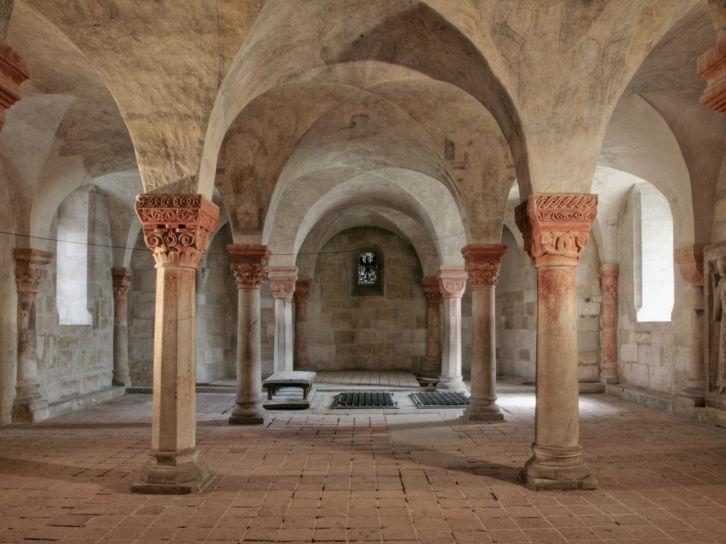 Quedlinburg-schloss-krypta