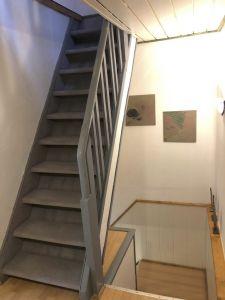 Zweite Treppe